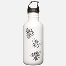 Honey Bees Water Bottle