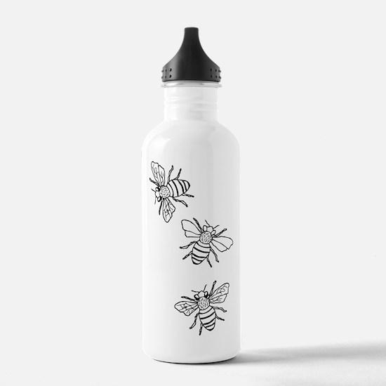 Honey Bees Water Bottle