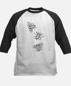 Honey Bees Kids Baseball Jersey