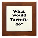 Tartuffe Framed Tile