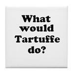 Tartuffe Tile Coaster