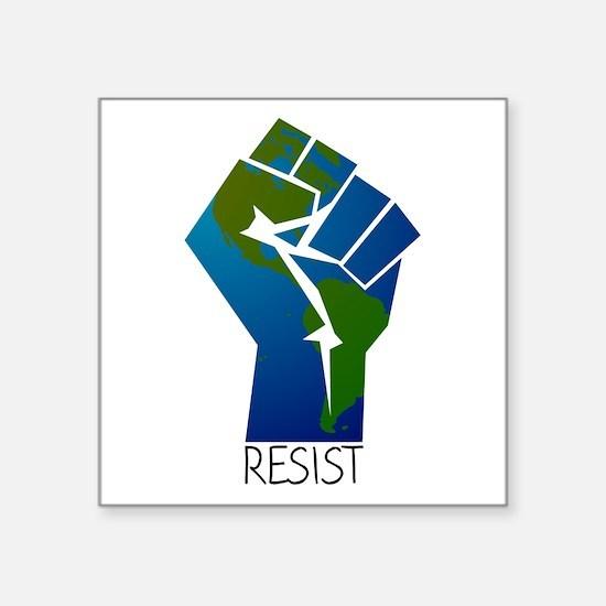 Resist Climate Change Sticker