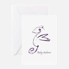 Baby Seahorse Greeting Card