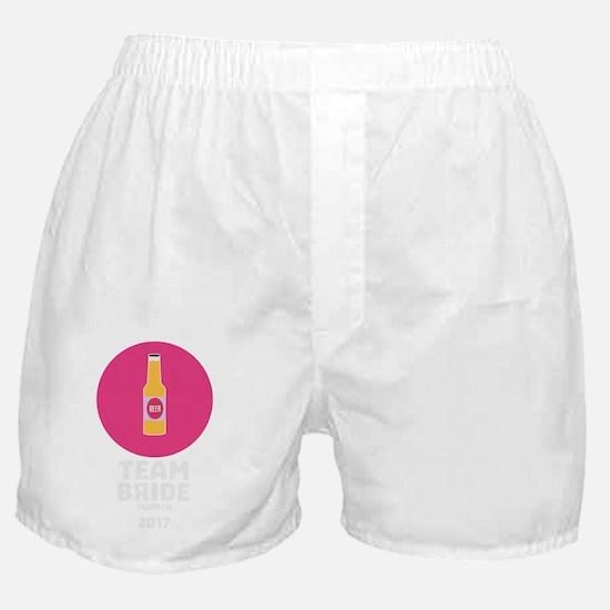 Team bride Munich 2017 Henparty Chck5 Boxer Shorts