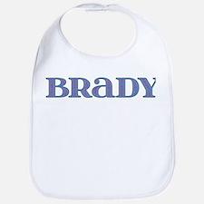 Brady Blue Glass Bib