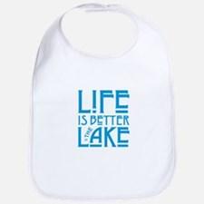 Life is Better at the Lake Baby Bib