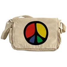 Flowing Peace Color Messenger Bag