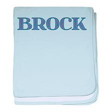 Brock Blue Glass baby blanket