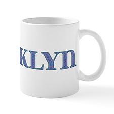 Brooklyn Blue Glass Mug