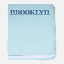 Brooklyn Blue Glass baby blanket