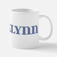 Brooklynn Blue Glass Mug