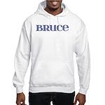 Bruce Blue Glass Hooded Sweatshirt