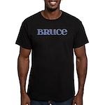 Bruce Blue Glass Men's Fitted T-Shirt (dark)