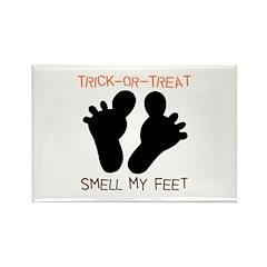 Smell My Feet Halloween Rectangle Magnet (100 pack