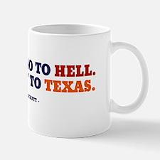 Y'all can go to OU.  Mug