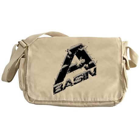 A-Basin Snow Capped Logo Messenger Bag