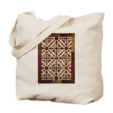 Grape Chain of Events Tote Bag