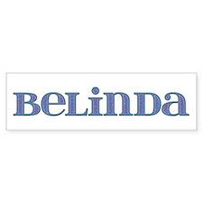 Belinda Blue Glass Bumper Bumper Sticker