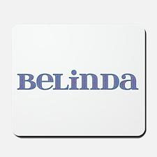 Belinda Blue Glass Mousepad