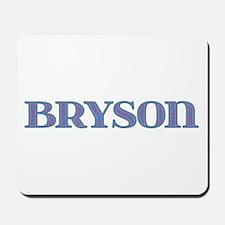 Bryson Blue Glass Mousepad
