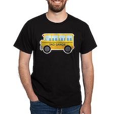 2nd Grade School Bus T-Shirt
