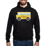 3rd Grade School Bus Hoodie (dark)