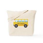 3rd Grade School Bus Tote Bag