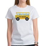 4th Grade School Bus Women's T-Shirt