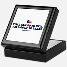 Y'all can go to hell. Keepsake Box