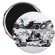 Cute Racing Magnet