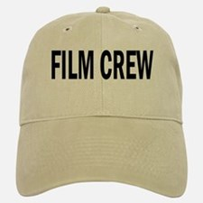 Film Crew Baseball Baseball Cap (White or Khaki)