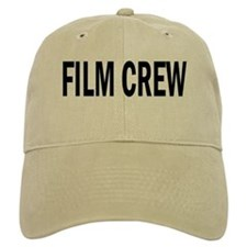 Film Crew Baseball Cap (White or Khaki)