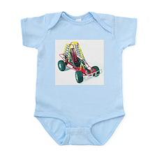Cute Go cart racing Infant Bodysuit