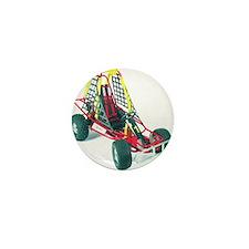 Cute Karting Mini Button