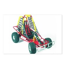 Unique Go kart racing Postcards (Package of 8)