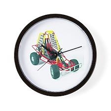 Cute Go kart racing Wall Clock
