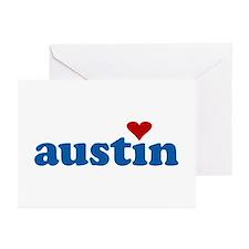 i love austin Greeting Cards (Pk of 10)