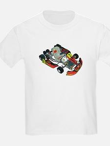 Unique Go cart racing T-Shirt
