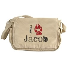 I Paw Jacob Messenger Bag