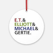 'E.T. Movie' Ornament (Round)