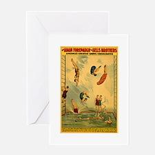 Circus Of The Sea Greeting Card