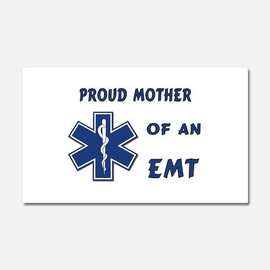 Proud EMT Mother Car Magnet 20 x 12