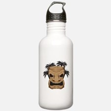Wicked Tiki Carving Water Bottle