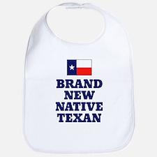 Native Texan Baby Bib