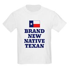 Native Texan Baby Kids T-Shirt