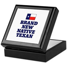 Native Texan Baby Keepsake Box