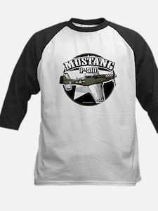 Mustang P51-D Kids Baseball Jersey