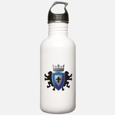 Medieval Lion Heraldry Water Bottle
