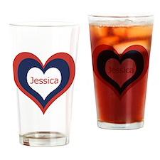 Jessica - Drinking Glass