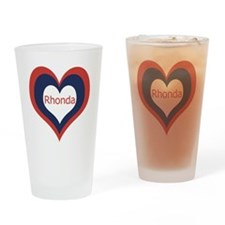 Rhonda - Drinking Glass